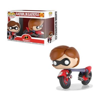 Funko Incredibles Elastigirl on Elasticycle