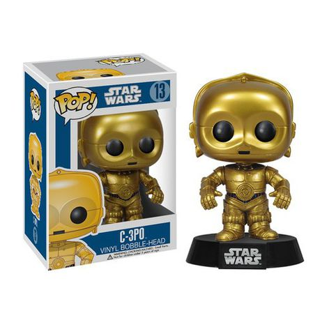 C3PO star wars funko pop vinyl 2