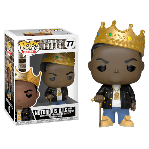 Funko Notorious BIG With Crown