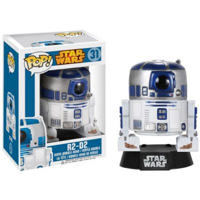 R2-D2 star wars funko pop vinyl