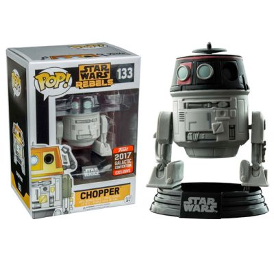 chopper star wars rebels 2017 galactic convention exclusive funko pop