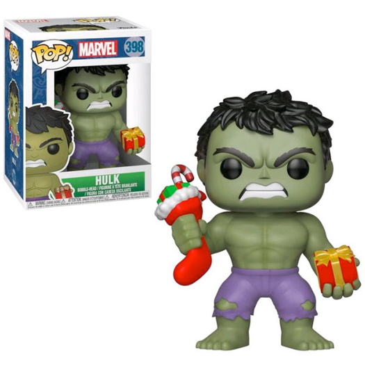hulk marvel holiday funko pop