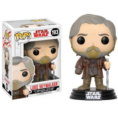 luke skywalker star wars episode 8 funko pop