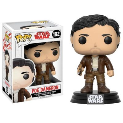 poe dameron star wars episode 8 funko pop
