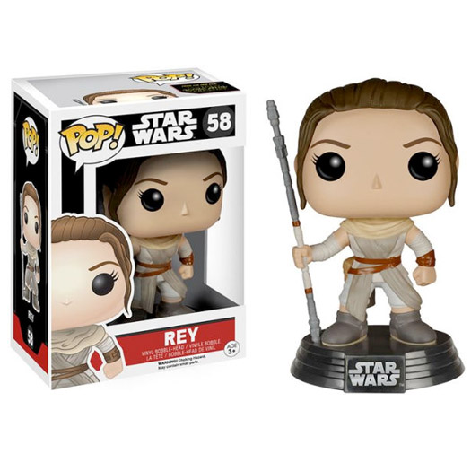 rey star wars episode 7 funko pop vinyl
