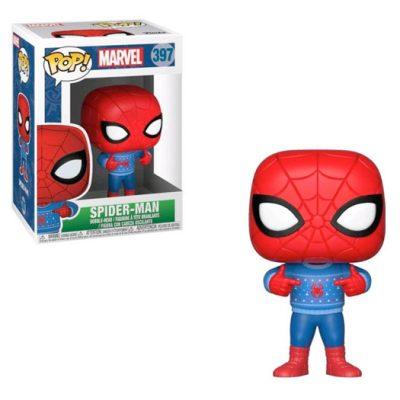 spiderman marvel holiday funko pop
