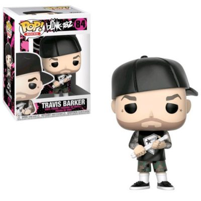 travis barker rocks blink 182 funko pop