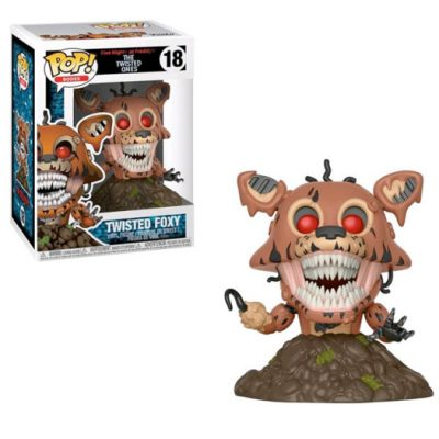 twisted foxy funko pop