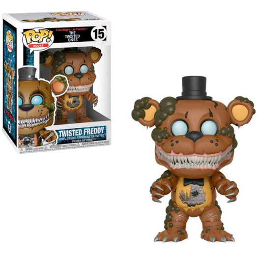 twisted freddy books funko pop