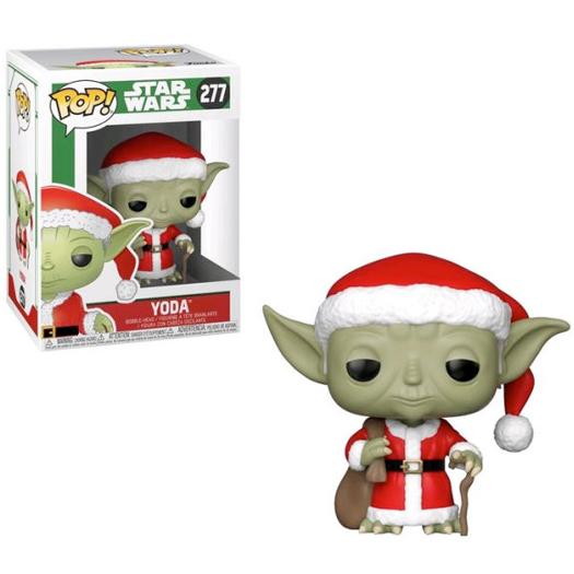 yoda santa star wars holiday
