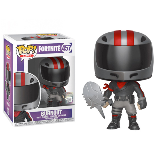 burnout fortnite funko
