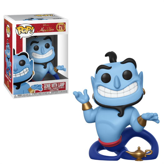 Funko Pop Disney Aladdin Genie With Lamp Popvinylcoza