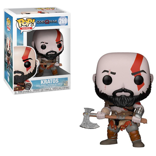 kratos god of war funko pop