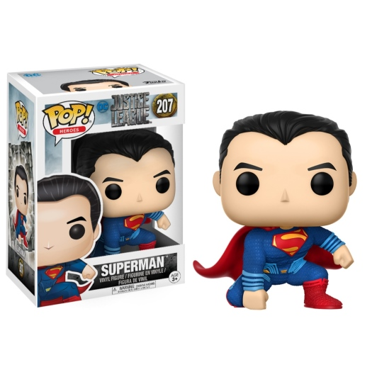 superman justice league funko pop