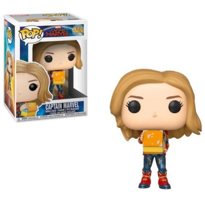 Funko CPT Marvel with Lunch Box