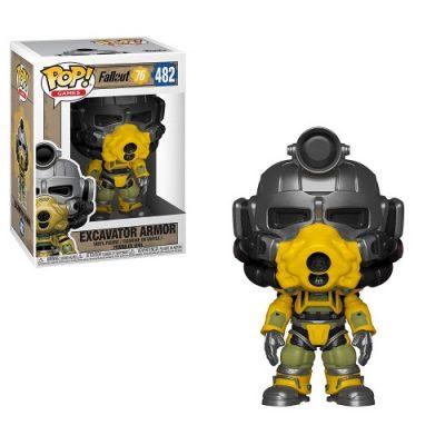 Funko Fallout76 Excavator armor