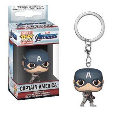 Funko Keychain Avengers Endgame CPT America