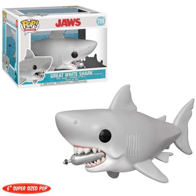 Funko Great white shark with tank