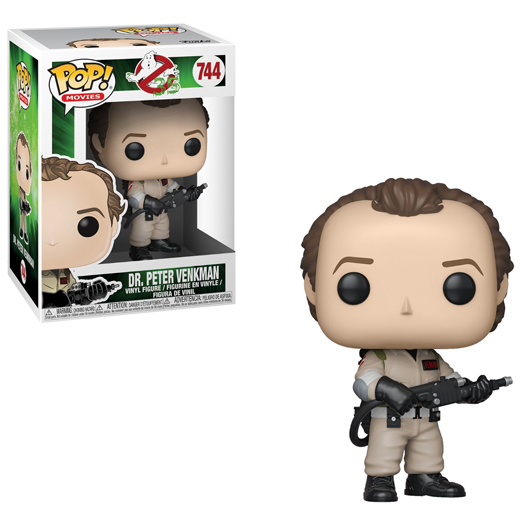 Funko Pop! Movies: Ghostbusters – Dr. Peter Venkman