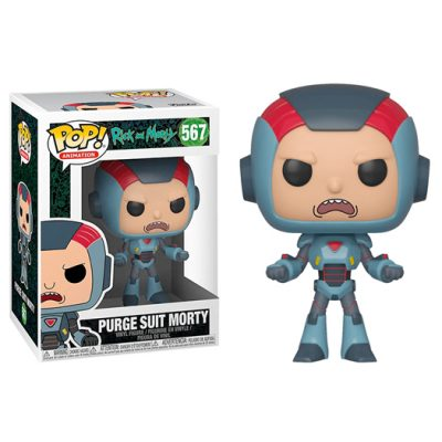 Funko Purge Suit Morty