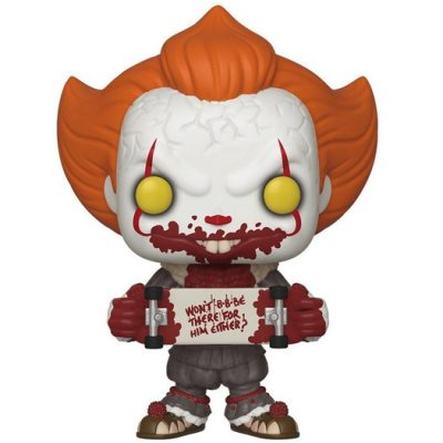 Pennywise with skateboard