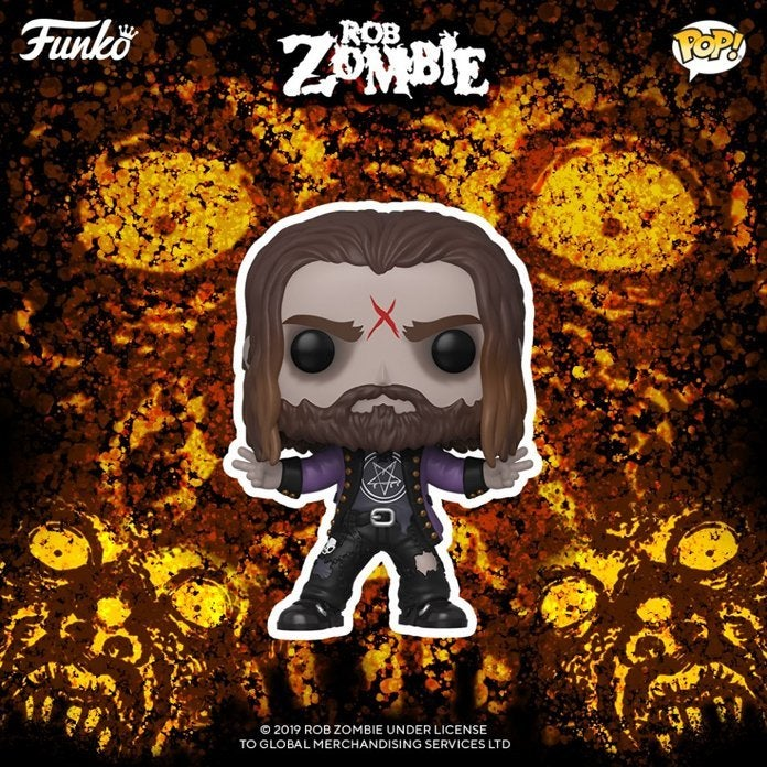 Rob Zombie is coming to the Funko Pop World!