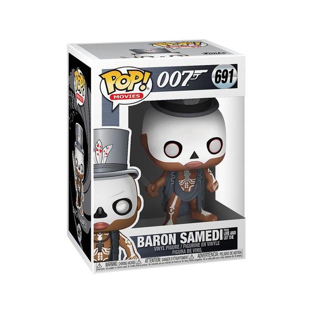 Funko Pop! Movies: 007 – Baron Samedi (Live and Let Die)