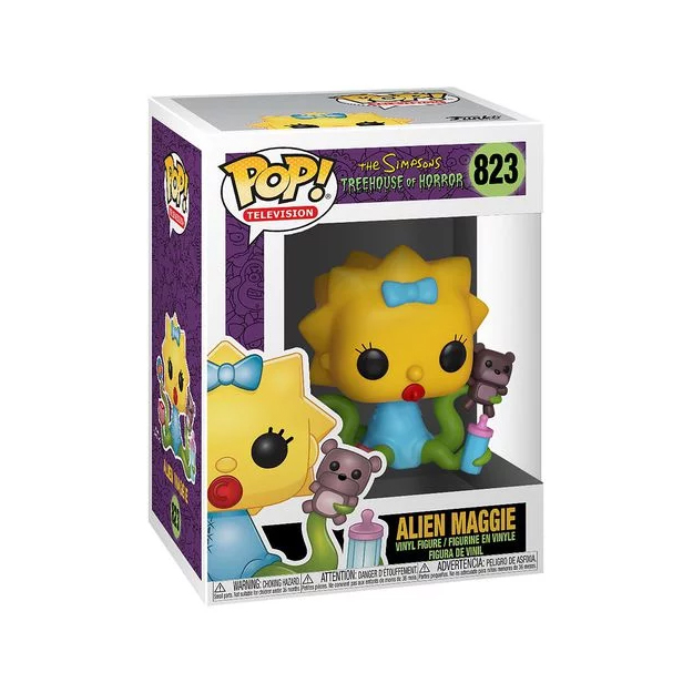 Funko Pop! Television: The Simpsons (Treehouse of Horror) – Alien Maggie