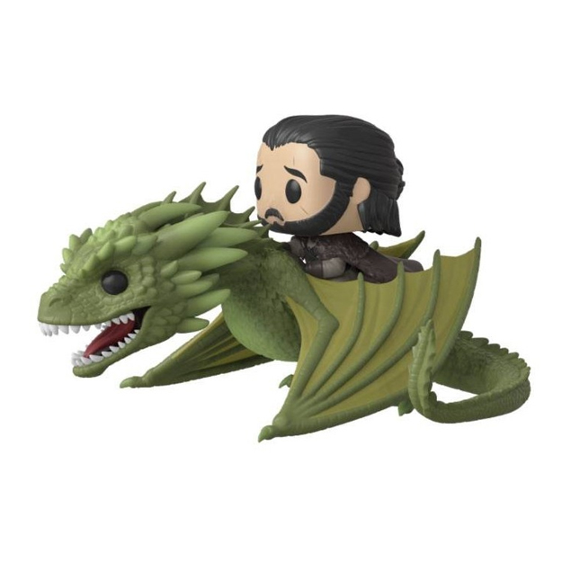Funko Pop! Rides: Game of Thrones – Jon Snow and Rhaegal