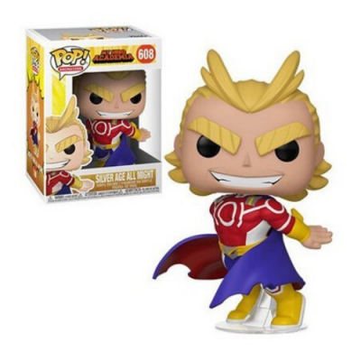 My Hero Aacdemia Silver Age All Might