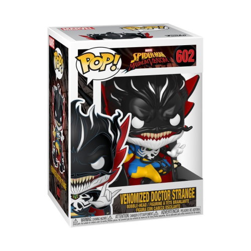 Funko Pop! Marvel: Spider-Man Maximum Venom – Venomized Doctor Strange