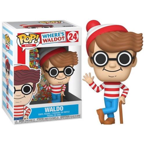 Funko Pop! Books: Where's Waldo? – Waldo