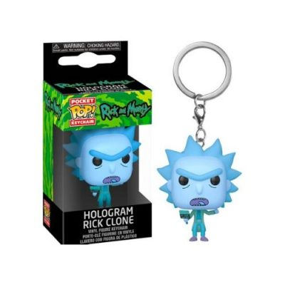 hologram-rick-funko-keychain
